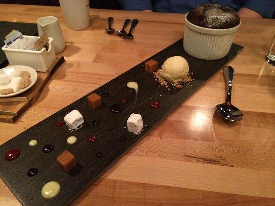Station Two Twenty: chocolate souffle