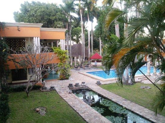 Hotel Hacienda Uxmal Plantation & Museum: le parc