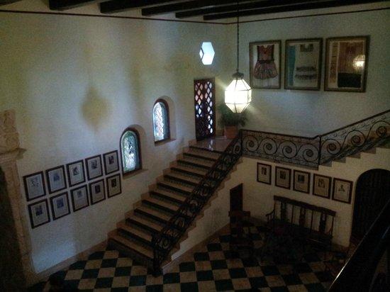 Hotel Hacienda Uxmal Plantation & Museum: le hall d'entrée
