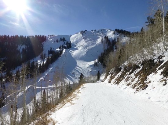 Canyons Village at Park City: bluebird day
