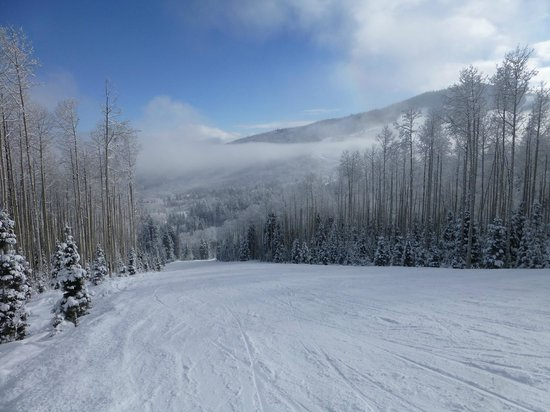 Canyons Village at Park City : slopes to yourself the week before Christmas