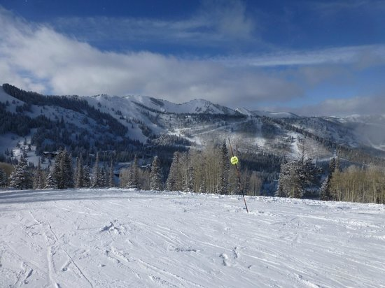 "Canyons Village at Park City : aptly named ""Panorama"" run"