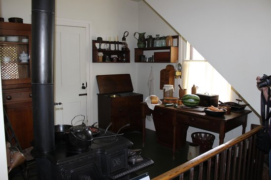 Lincoln Home National Historic Site : Mary Lincoln's Kitchen, Lincoln Home, Springfield, IL
