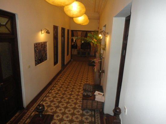 Casa Colombo: Corridor