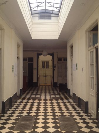 Hospedaje Santa Rosa: Main entrance