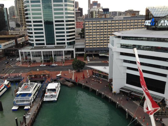 Copthorne Hotel Auckland HarbourCity: Sail away