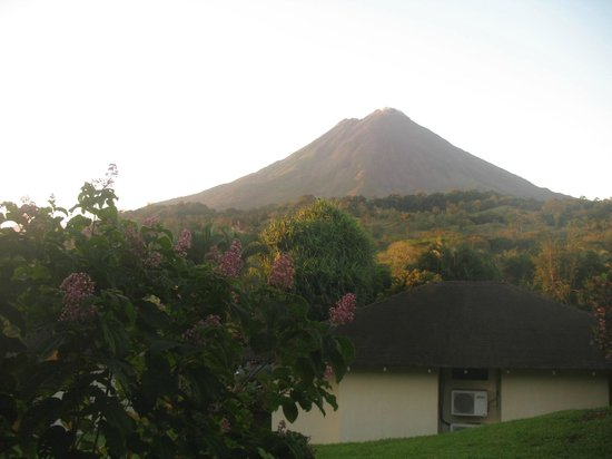 Arenal Paraiso Hotel Resort & Spa: The volcano