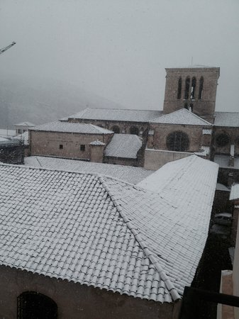 Hotel Convento del Giraldo: Catedral vista desde la habitacion