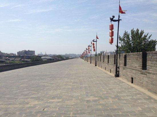 Muralla de Xi'an: Long Stretch of Wall