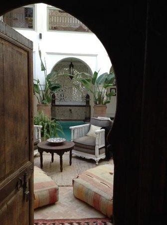 palacio de las especias: l'uscita della stanza del pian terreno