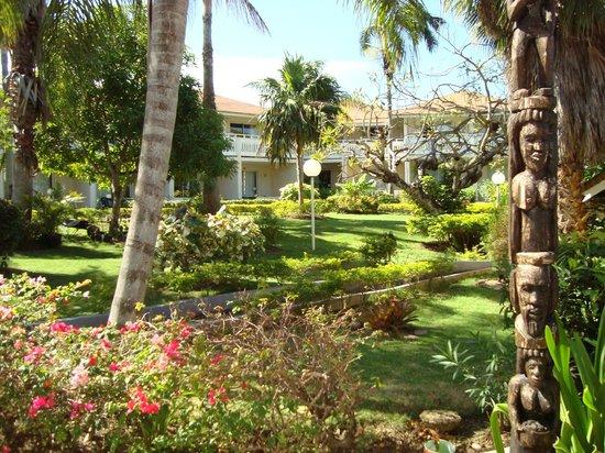 Club Ambiance: garden area