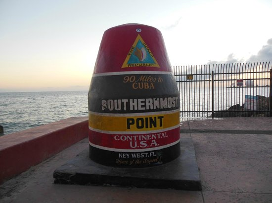 Southernmost Point at Sunset