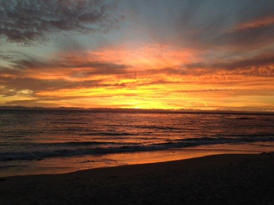 Surf & Sand Resort: Sunset capture from Splashes Bar