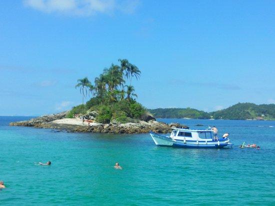 Pousada Refúgio do Capitão : Ilha linda Demais.