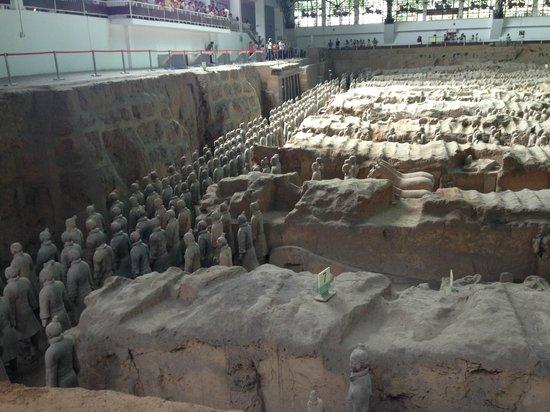 Museo de los Guerreros de Terracota y Caballos de Qin Shihuang: From the Sides