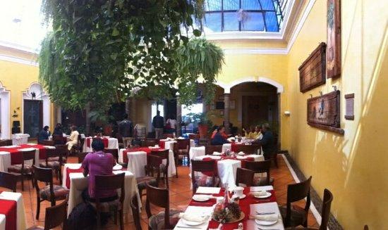 La Casa De Los Patios Hotel and Spa: Restaurante
