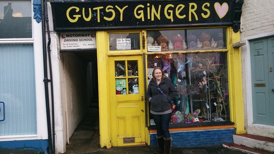 The Crown Country Inn: I am a gutsy ginger!