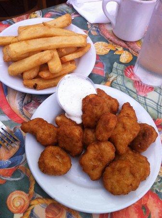 Barbara's Fishtrap : Chicken nuggets