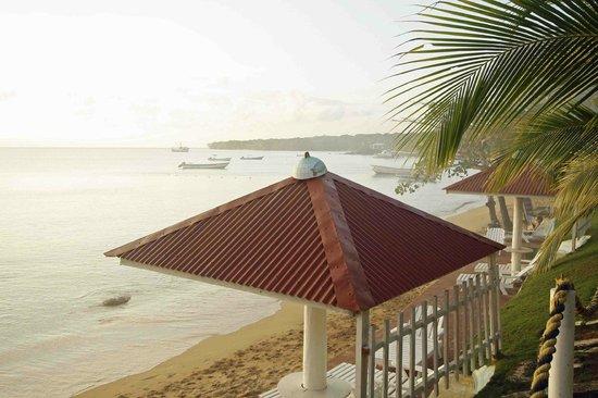 Hotel Los Delfines: gazebo sulla spiaggia