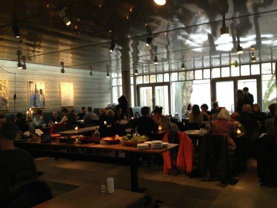 Smak Malmo Konsthall: Inside the restaurant