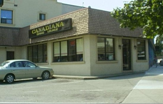 Canadiana Restaurant  front view ( enter from door on side )