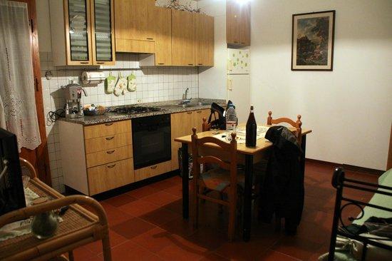 Agriturismo Santa Bruna: Cocina