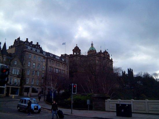 Una de las vistas desde Princes Street