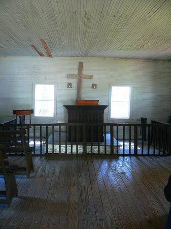 Hobcaw Barony Visitors Center: Inside the Church