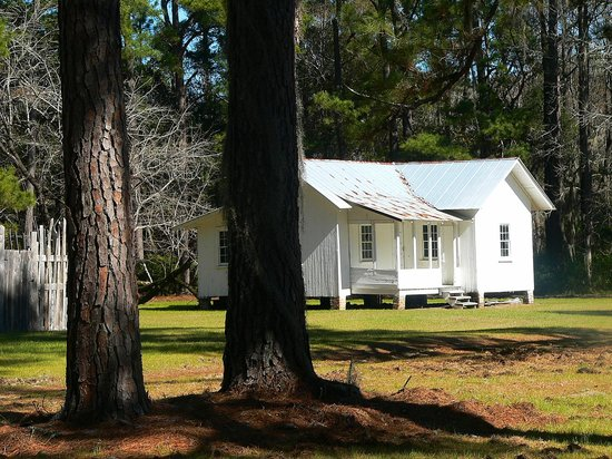 Hobcaw Barony Visitors Center: Slave Home with Additions