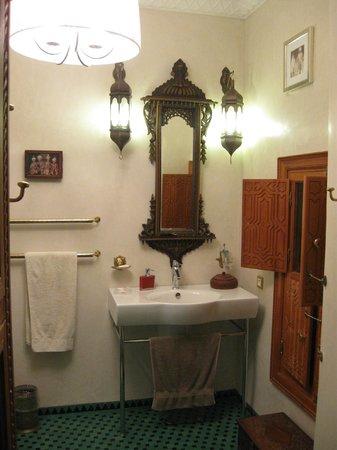 Riad Asrari: bagno