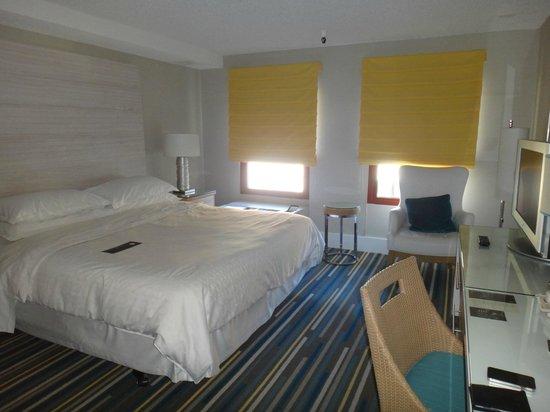 Sheraton Fisherman's Wharf Hotel: letto comodissimo