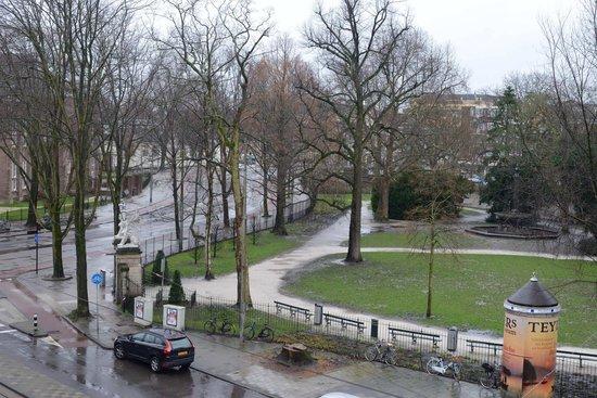 Amsterdam Hotel Parklane: vista desde mi habitación