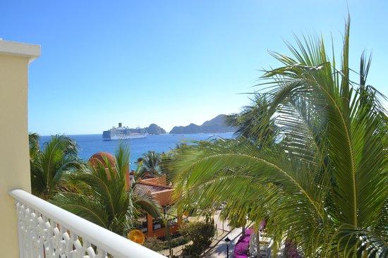 Hotel Riu Palace Cabo San Lucas: la vue de notre balcon chambre ordinaire