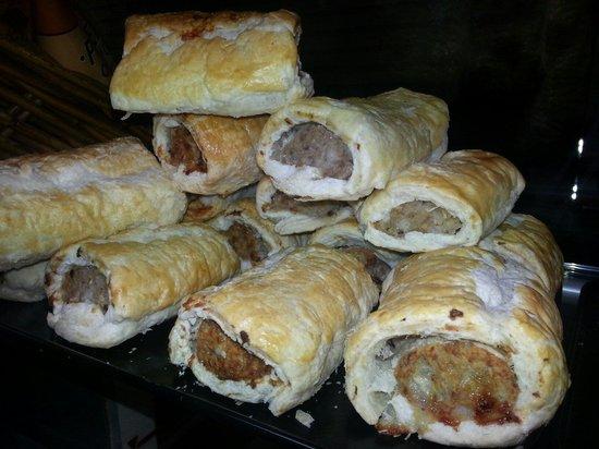 The Grapevine: Homemade JUMBO sausage rolls.. mmmm