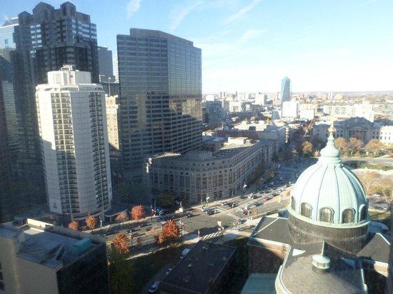 Sheraton Philadelphia Downtown Hotel: Vista da janela do quarto