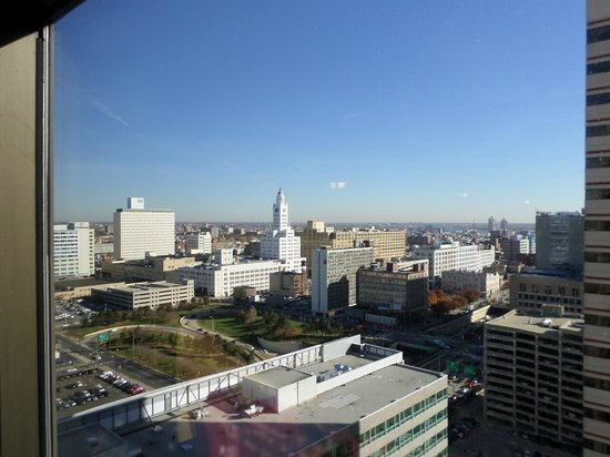 Sheraton Philadelphia Downtown Hotel: Vista da janela junto aos elevadores