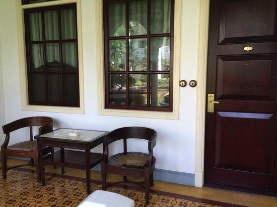 Hotel Majapahit Surabaya managed by AccorHotels : Terasse