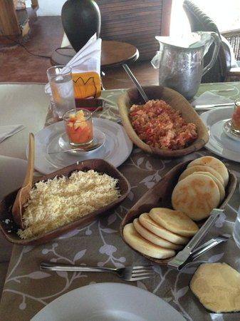 Posada Bequeve: Incredible breakfast... Best food in Los Roques
