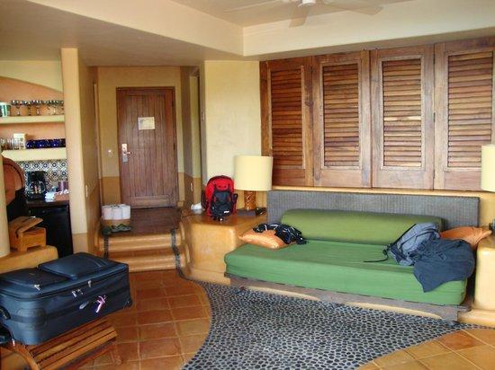 Embarc Zihuatanejo: vue intérieur du condo 1 chambre avec vue