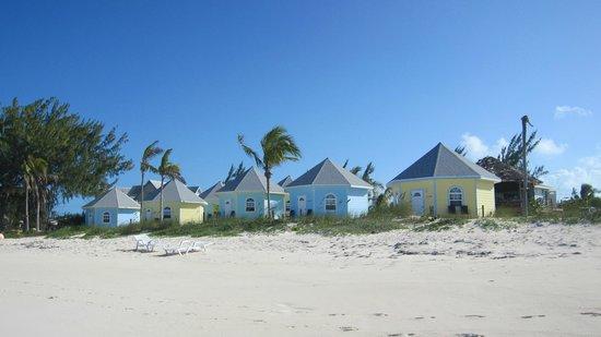 Paradise Bay Bahamas : Vue sur bungalows
