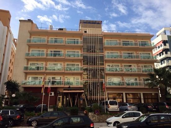Las Vegas Hotel: Fachada del Hotel Las Vegas