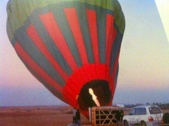 Ciel d'Afrique Hot Air Ballooning : ....