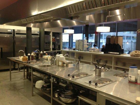 Hostelling International - Boston: La cucina condivisa