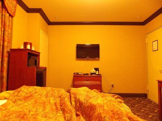 Hotel Newton: Quarto grande para o padrão