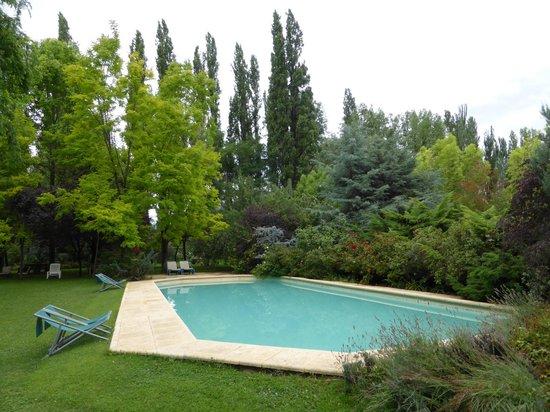 Casa Glebinias: A clean and fair-sized pool