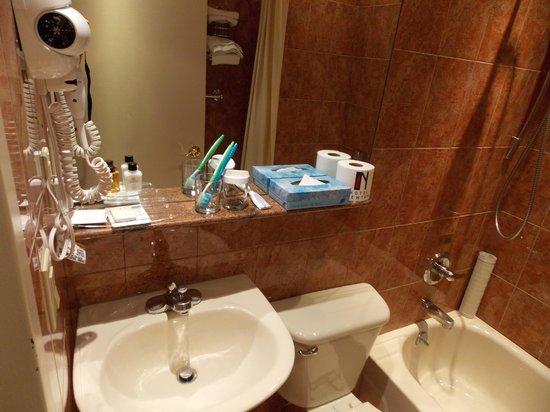 Hotel Newton: Banheiro