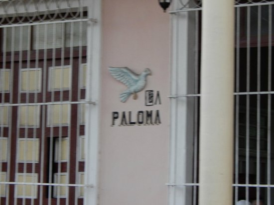 Hostal La Paloma: front of hostal
