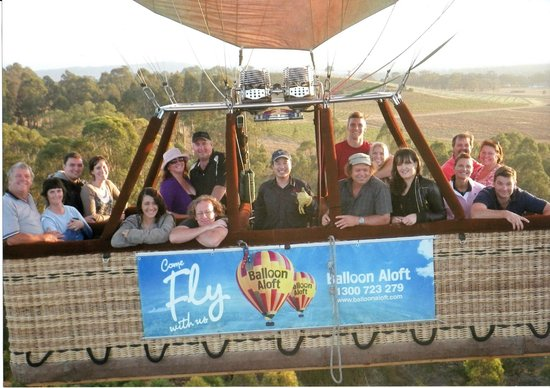 Balloon Aloft Hunter Valley Day Tours : The Flying Squad