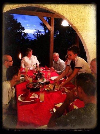 Dinner at Rancho Naturalista