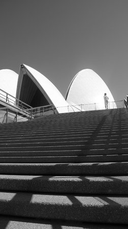 Run This Way -  Day Tours: Opera House stairs